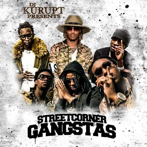 Various Artists - Streetcorner Gangstas 18