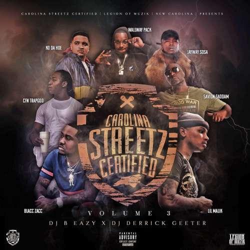 Various Nc Artists - Carolina Streetz Certified Vol 3