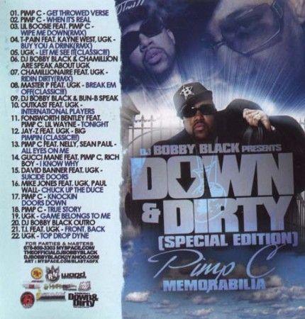 Memorabilia - Pimp C (DJ Bobby Black)