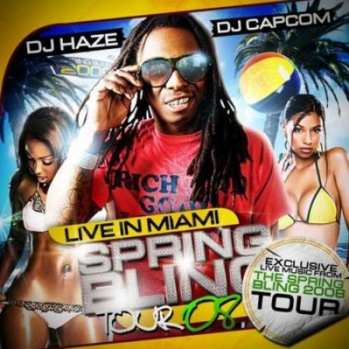 Lil Wayne - Live In Miami (Spring Bling Tour '08)