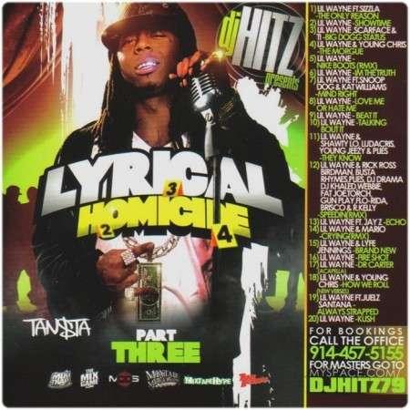 Lil Wayne - Lyrical Homicide, Vol. 3