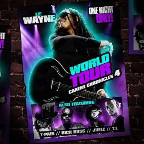 Lil Wayne - Carter Chronicles 4 (World Tour)