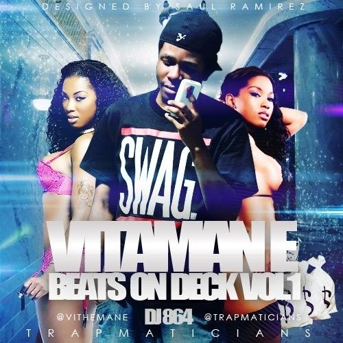 Beats On Deck (Instrumentals) - Vitaman-E (DJ 864)