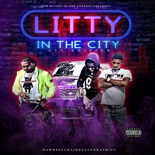 Various Artists - Litty In The City A3C