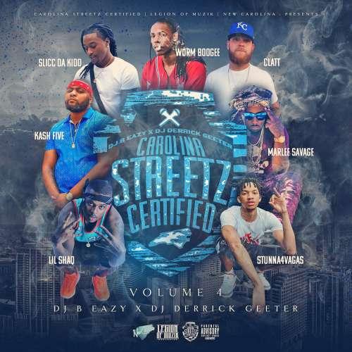 Various Artists - Carolina Streetz Certified Vol. 4