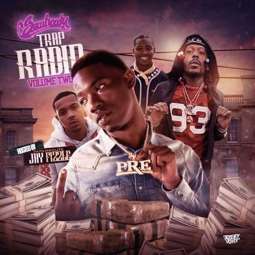 Various Artists - Trap Radio 2 (The Grape Edition) (Hosted By Jay Fizzle)