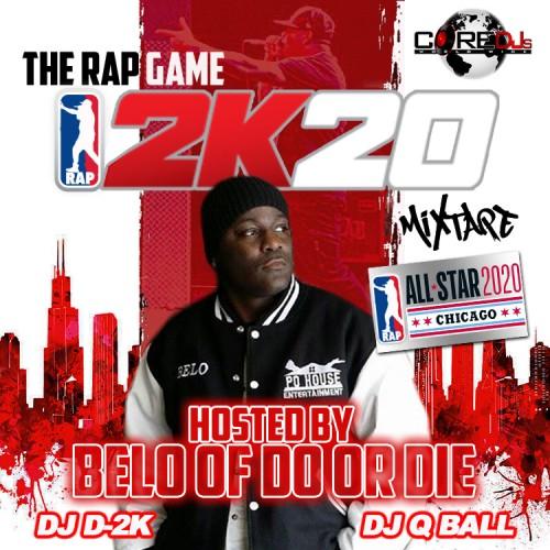 The Rap Game 2K20 - DJ D-2K, DJ Q Ball