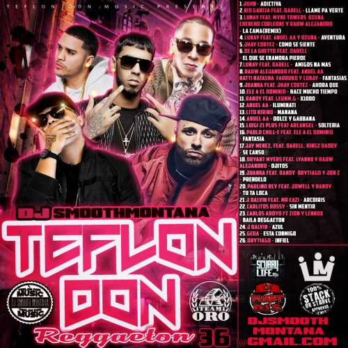 Various Artists - Teflon Don 36