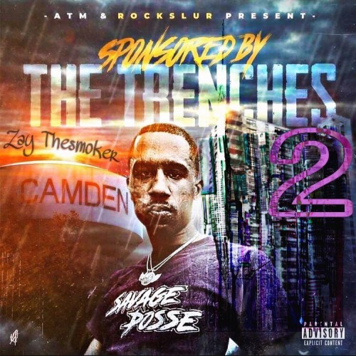 Sponsored By The Trenches 2  - ZayTheSmoker (DJ Pusha)