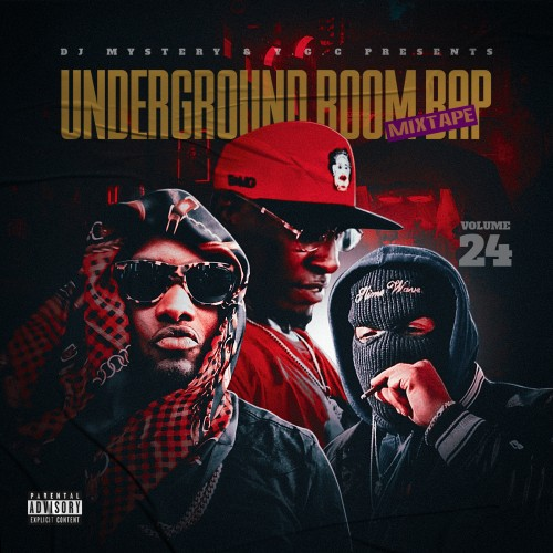Underground Boom Bap Mixtape 24 - DJ Mystery