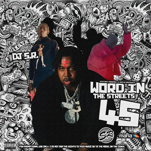 Word In The Streets 45 - DJ S.R., Mixtape Monopoly